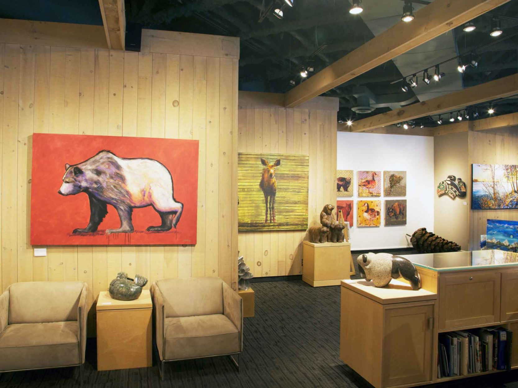Canada House Gallery: New Owners and Classic Art in Banff Main Photo