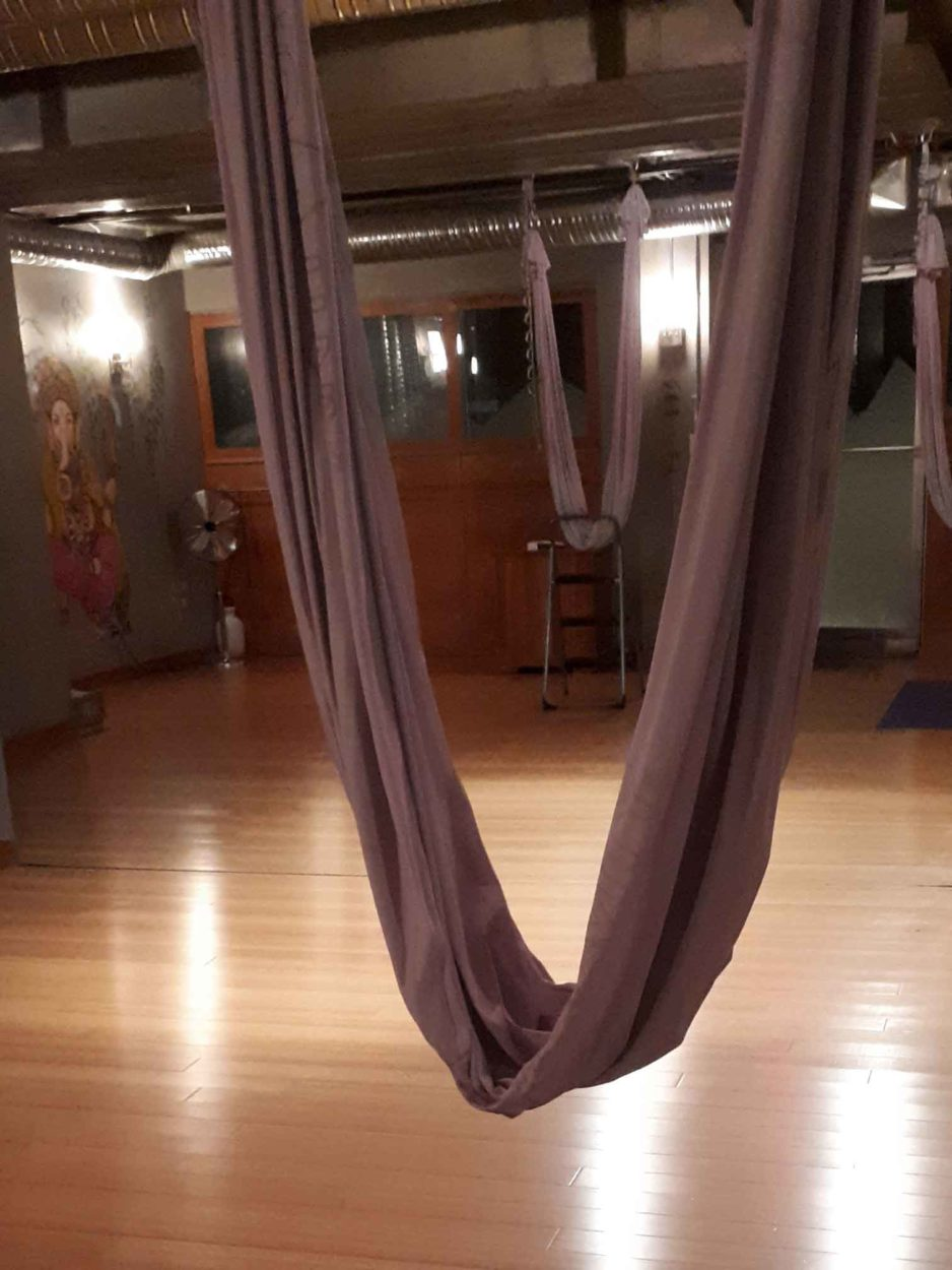 Hanging in There with Aerial Yoga on Where Rockies