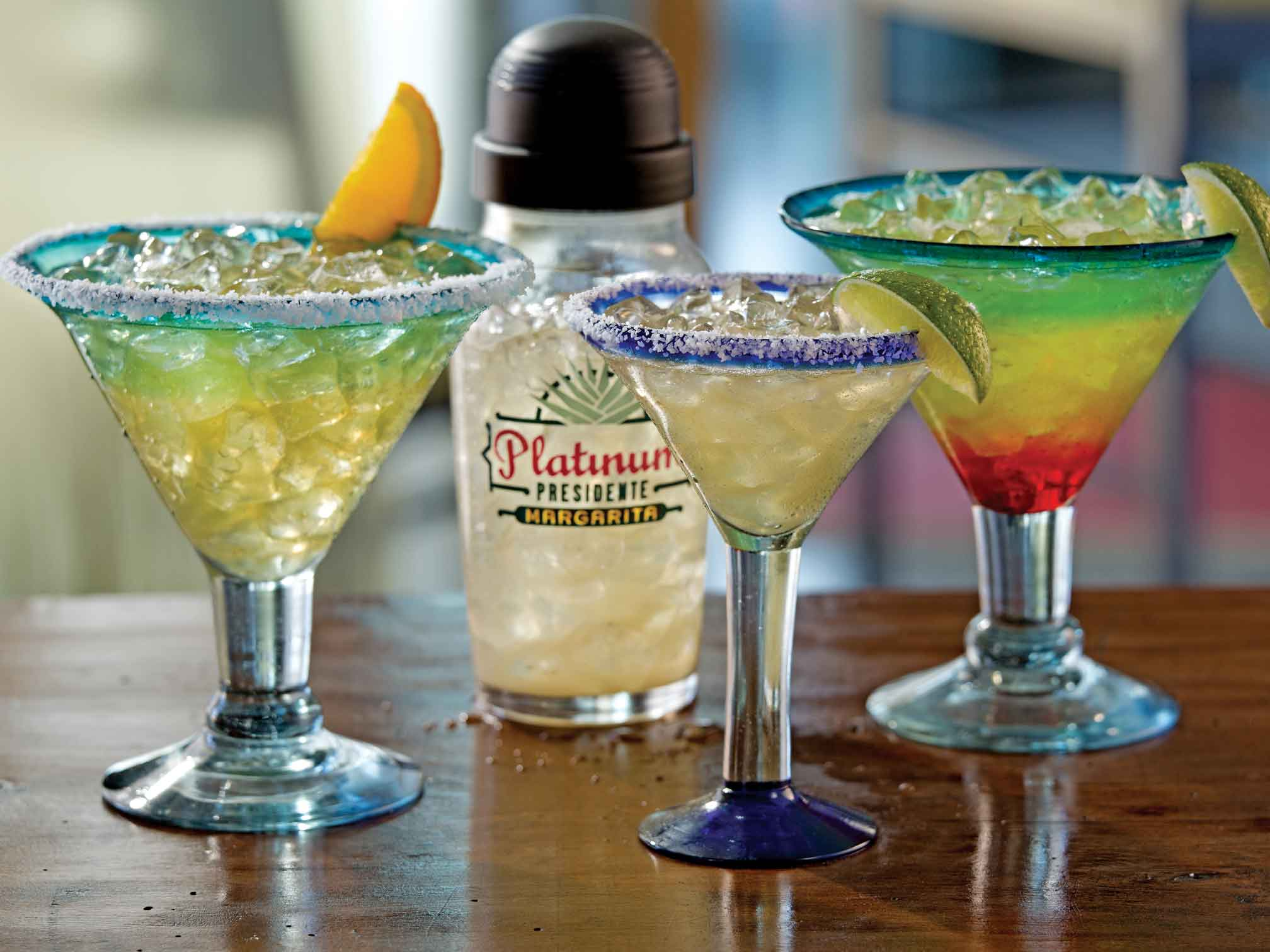 Patios with Happy Hours: Margaritas at Chili's Banff