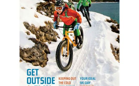 Spotted on the Cover! Fatbiking in the Canadian Rockies