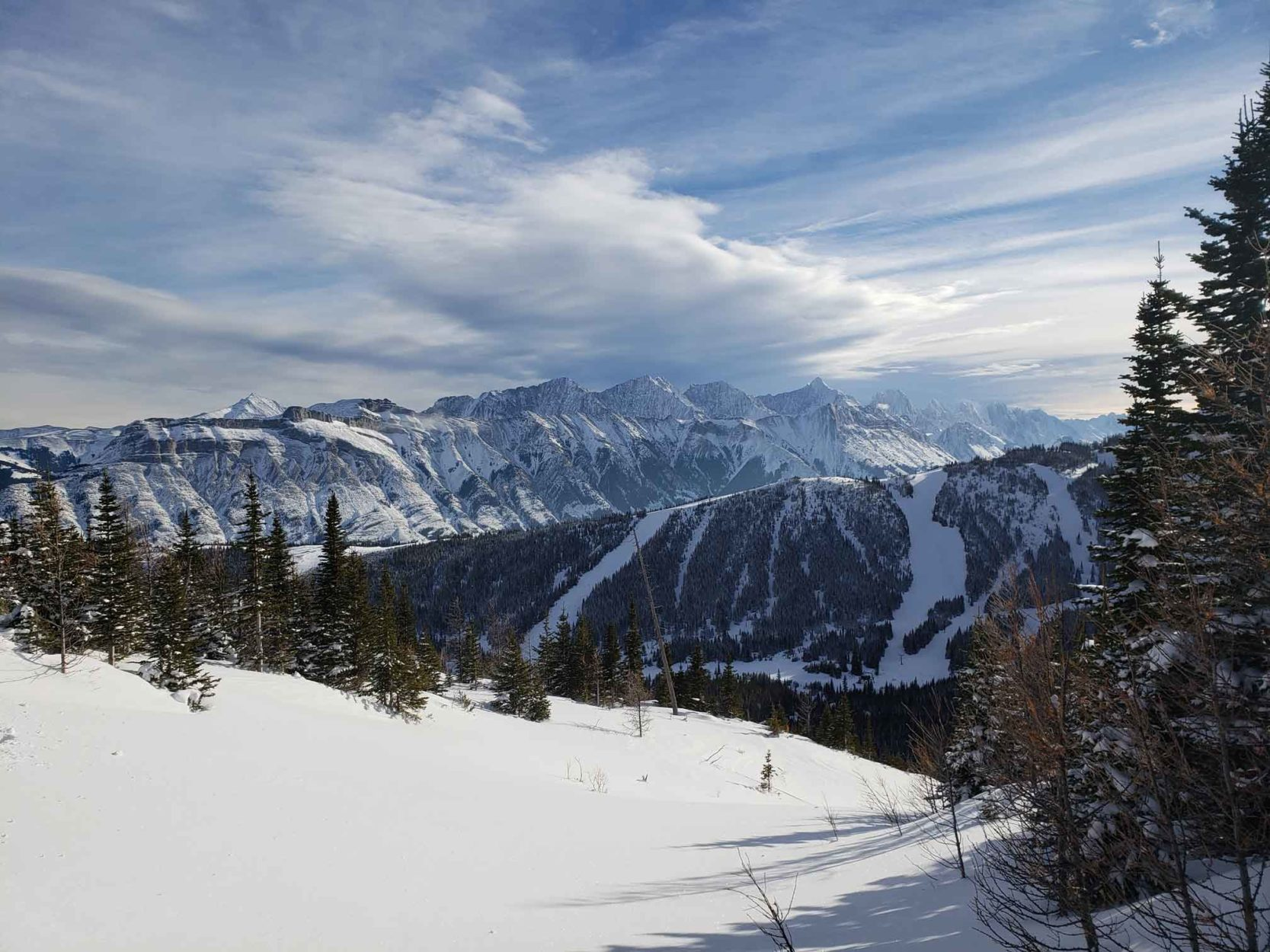 Avalanche Control at Fortress Mountain on Where Rockies
