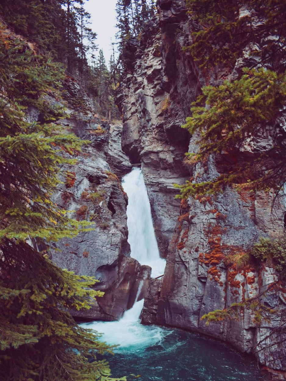 A Short and Sweet History of Johnston Canyon on Where Rockies