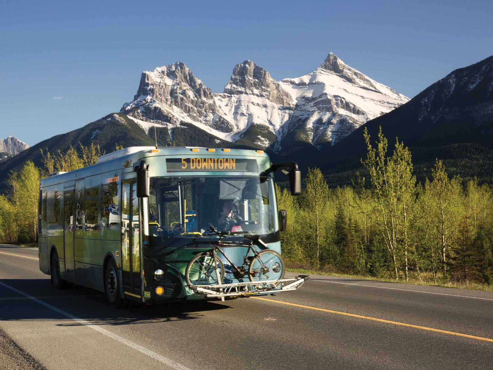 Public Transit in the Mountains on Where Rockies