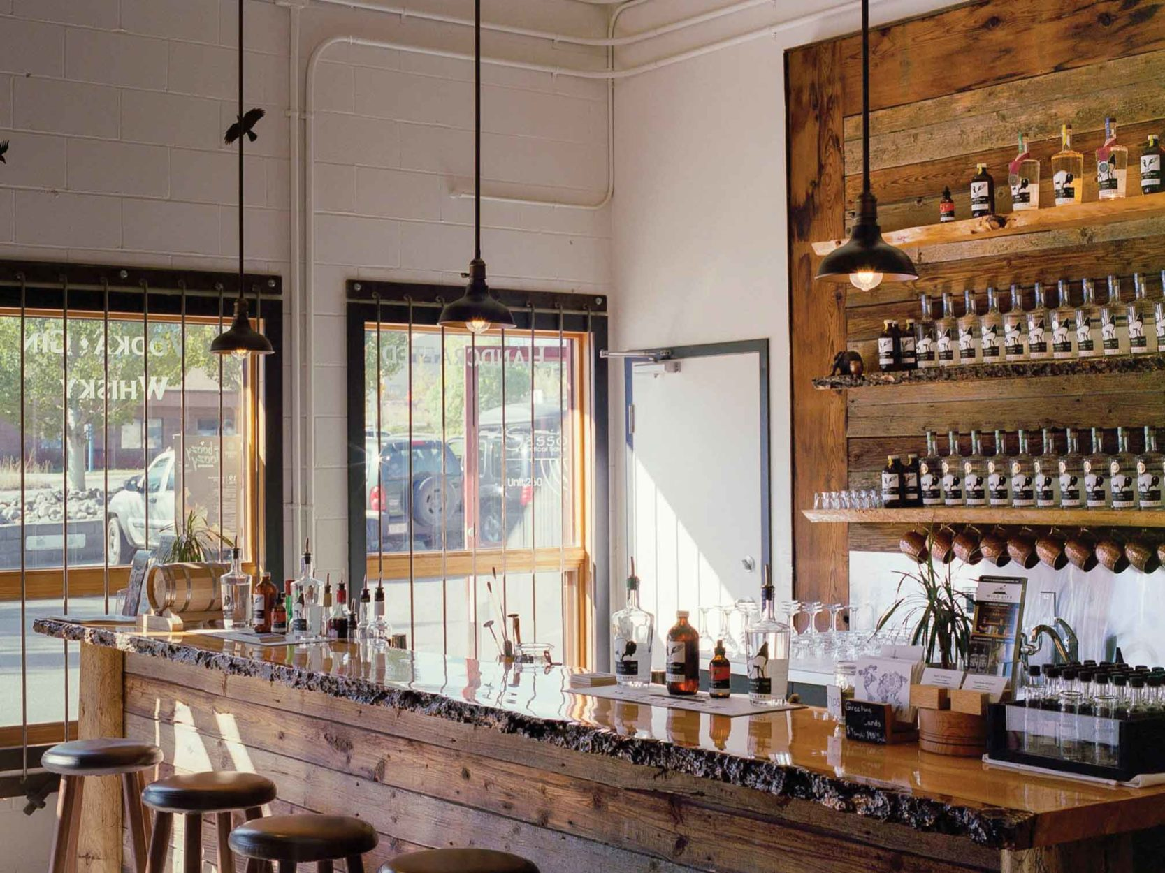 Sipping Spirits at Wild Life Distillery on Where Rockies