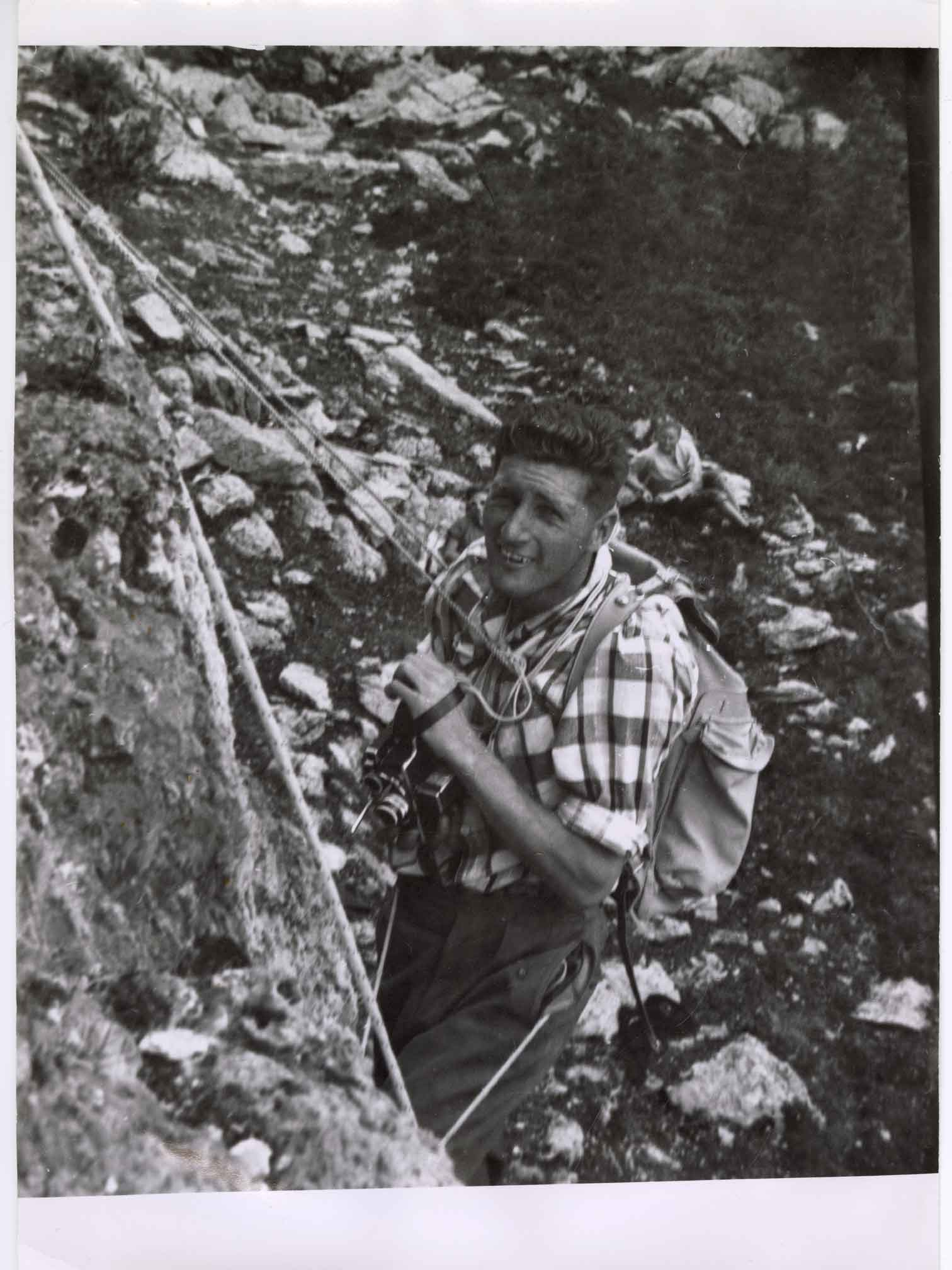 Hans Gmoser, Filmmaking in the Canadian Rockies