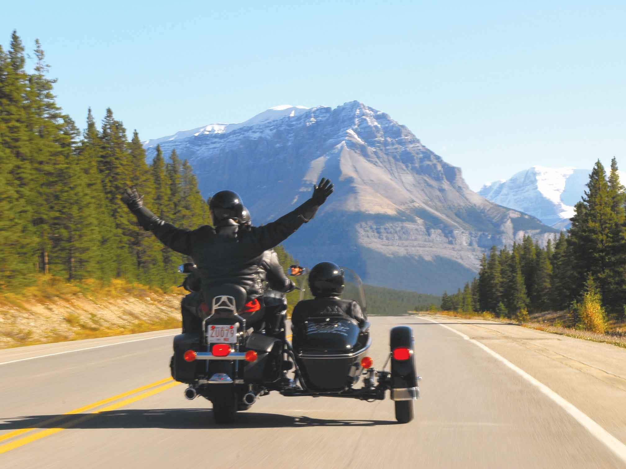 Jasper Summer Adventures: Motorcycle Tour