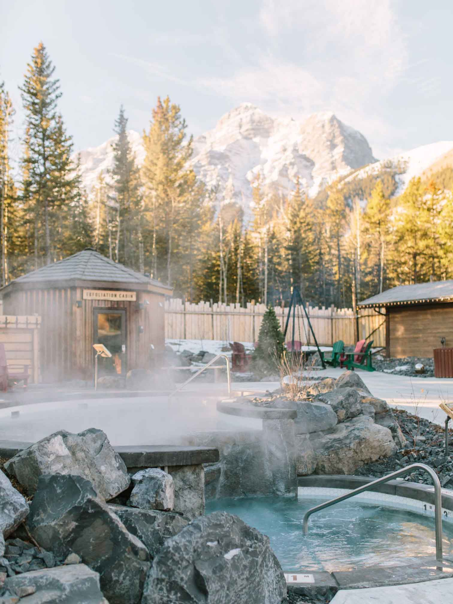 Spas in the Canadian Rockies: Kananaskis Nordic Spa