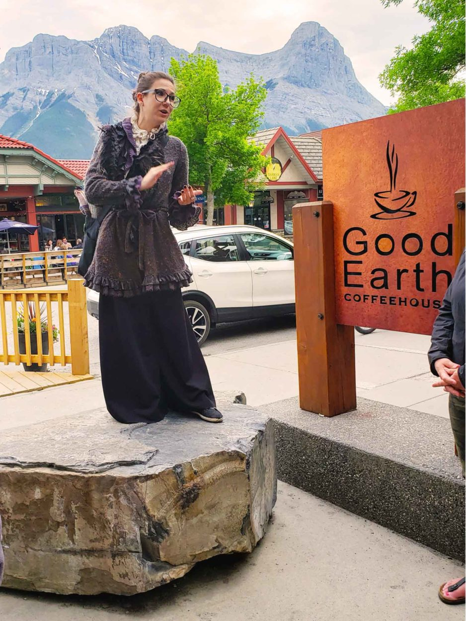 A Spooky Evening with Theatre Canmore's Ghost Walks on Where Rockies