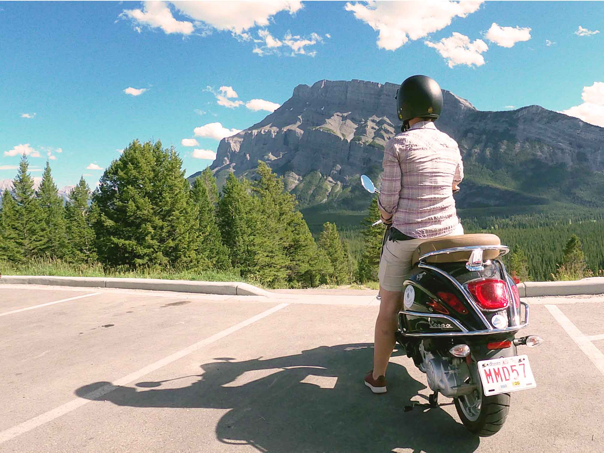 Why You Want to Rent a Scooter in Banff!