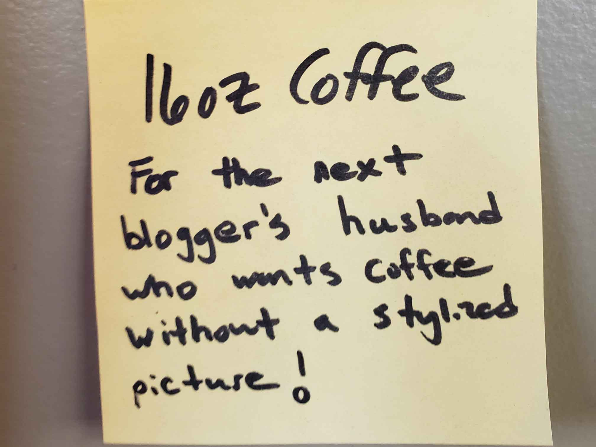 Free SnowDome Coffee Note