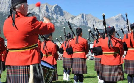 A Wee Bit of Canmore Alberta Scottish History