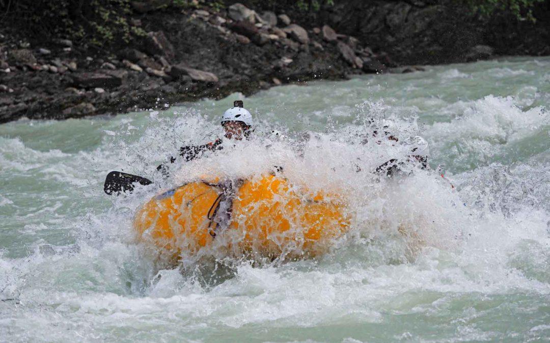 Heli-Rafting with Glacier Raft Company