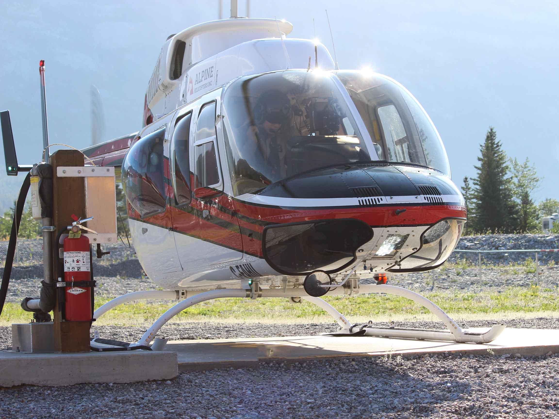 Take Flight on a White Mountain Adventures Heli-Hike