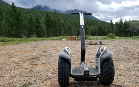 Exploring with Scootin' Kootenay Tours