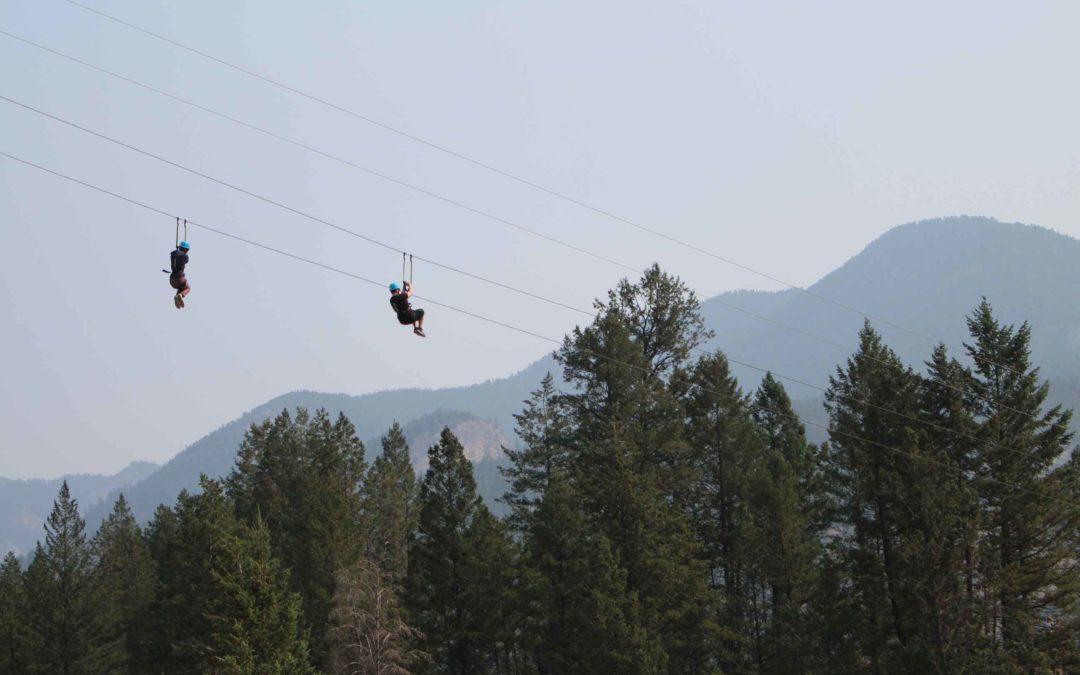 Soaring with Valley Zipline Adventures