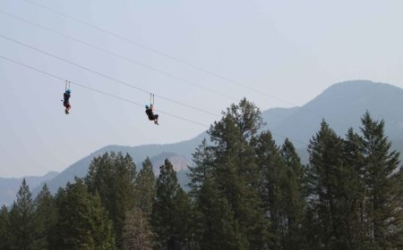 Soaring with Valley Zipline Adventures