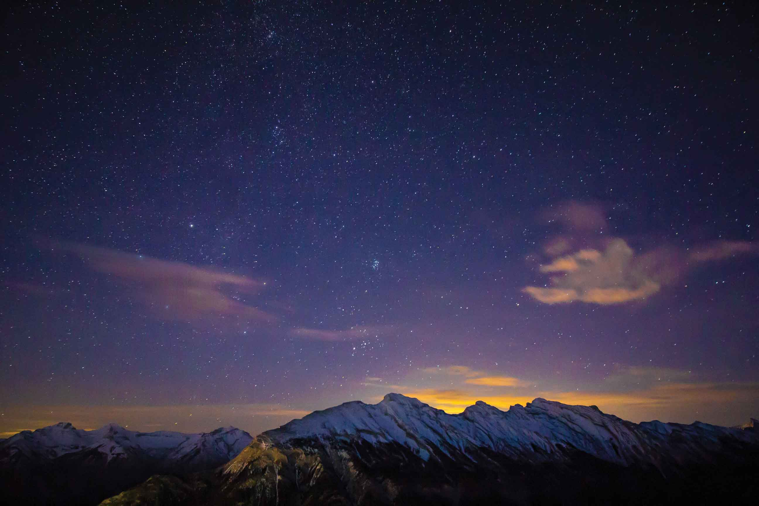 Nighttime Outdoor Adventures Banff-Gondola-by-Pursuit