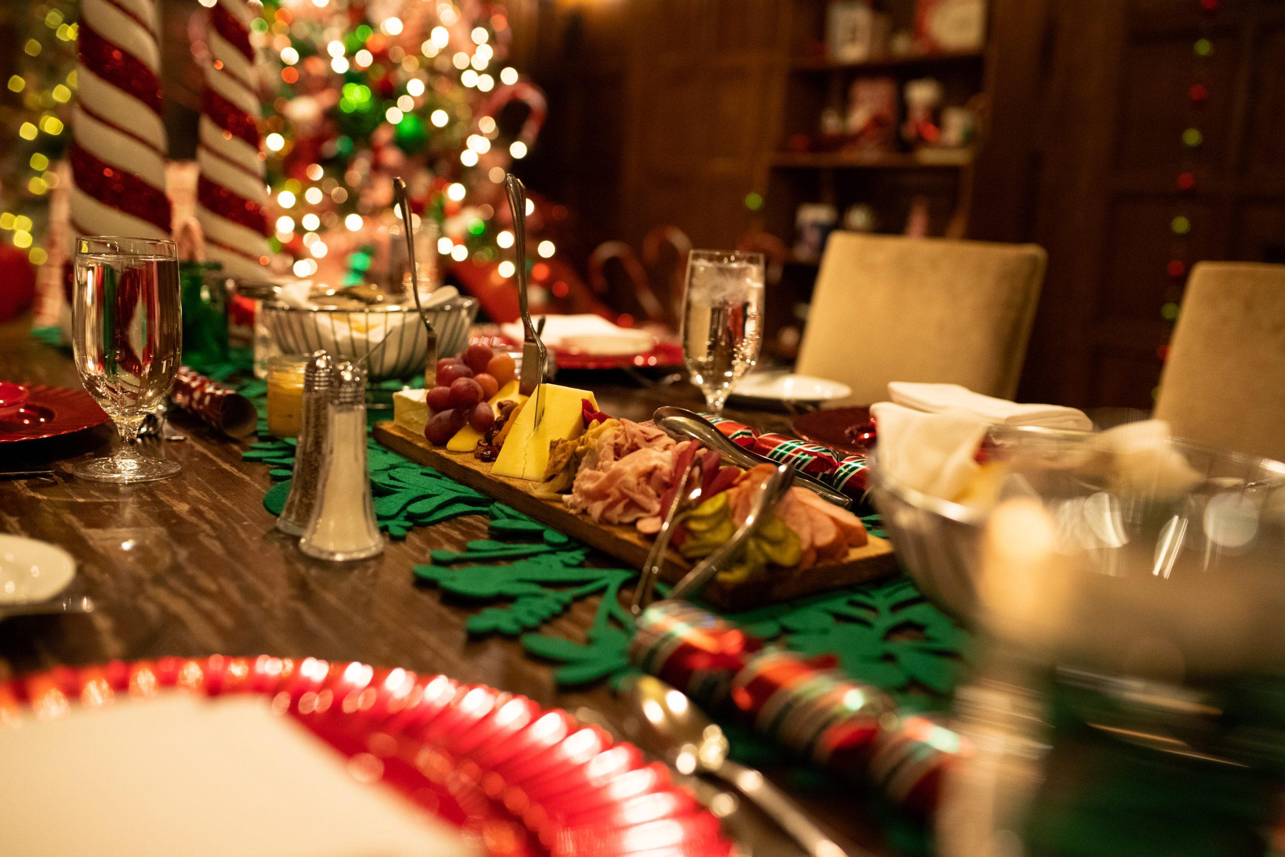 Christmas Dinner Fairmont Banff Springs