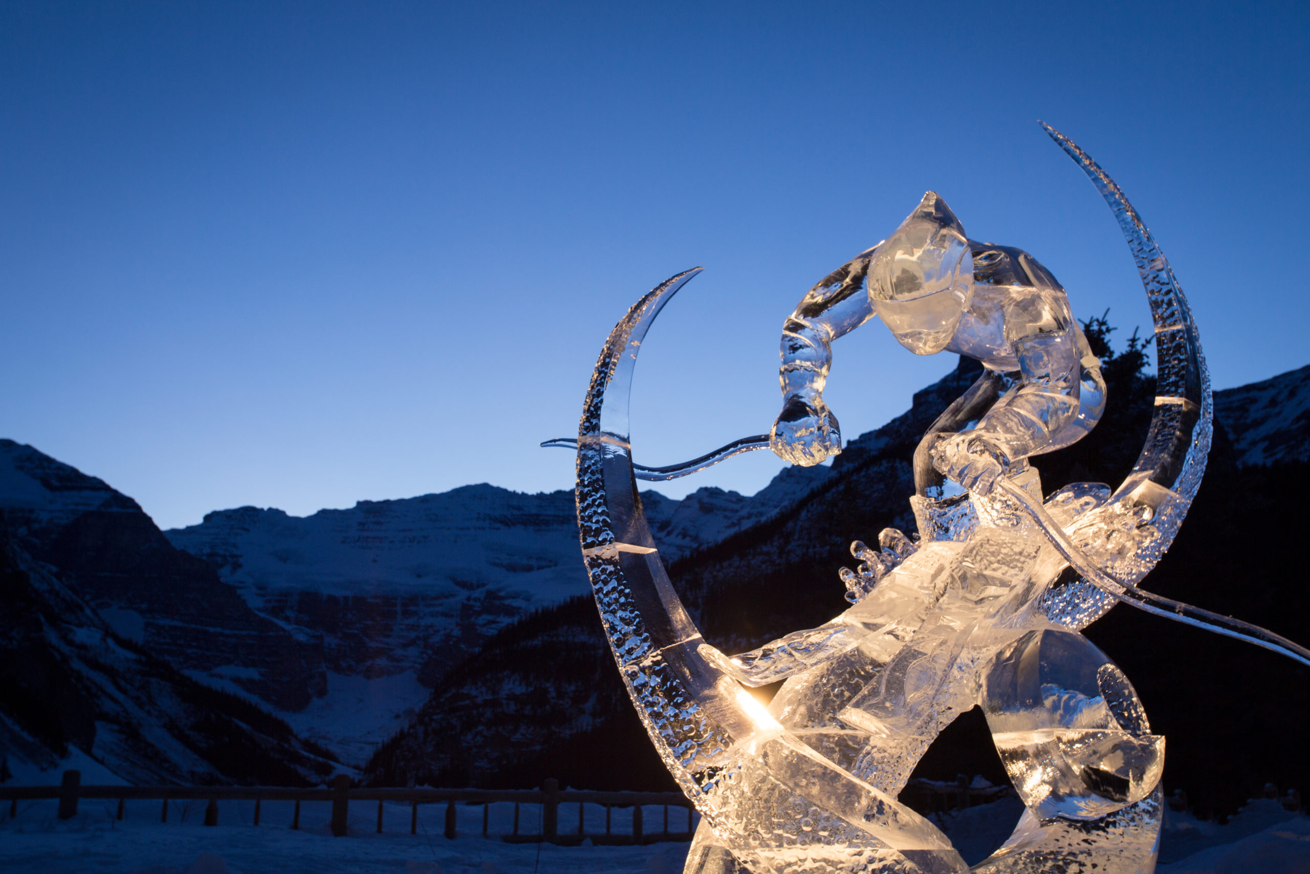 Ice Magic Festival Christmas in the Rockies Paul Zizka