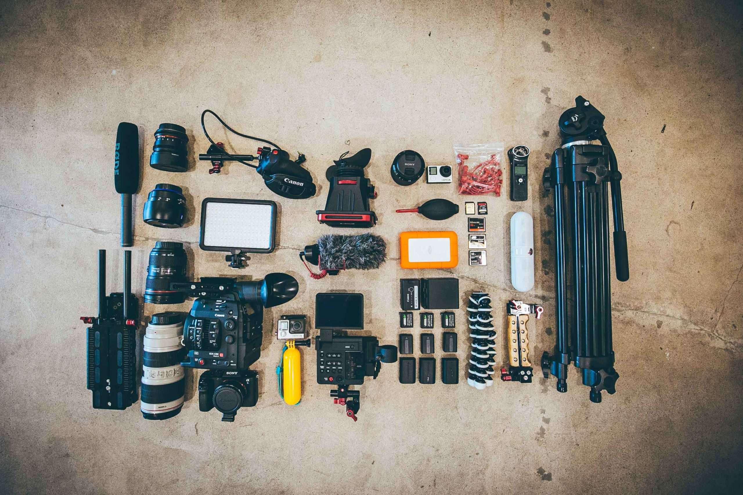 Camera Accessories for taking the best mountain photos