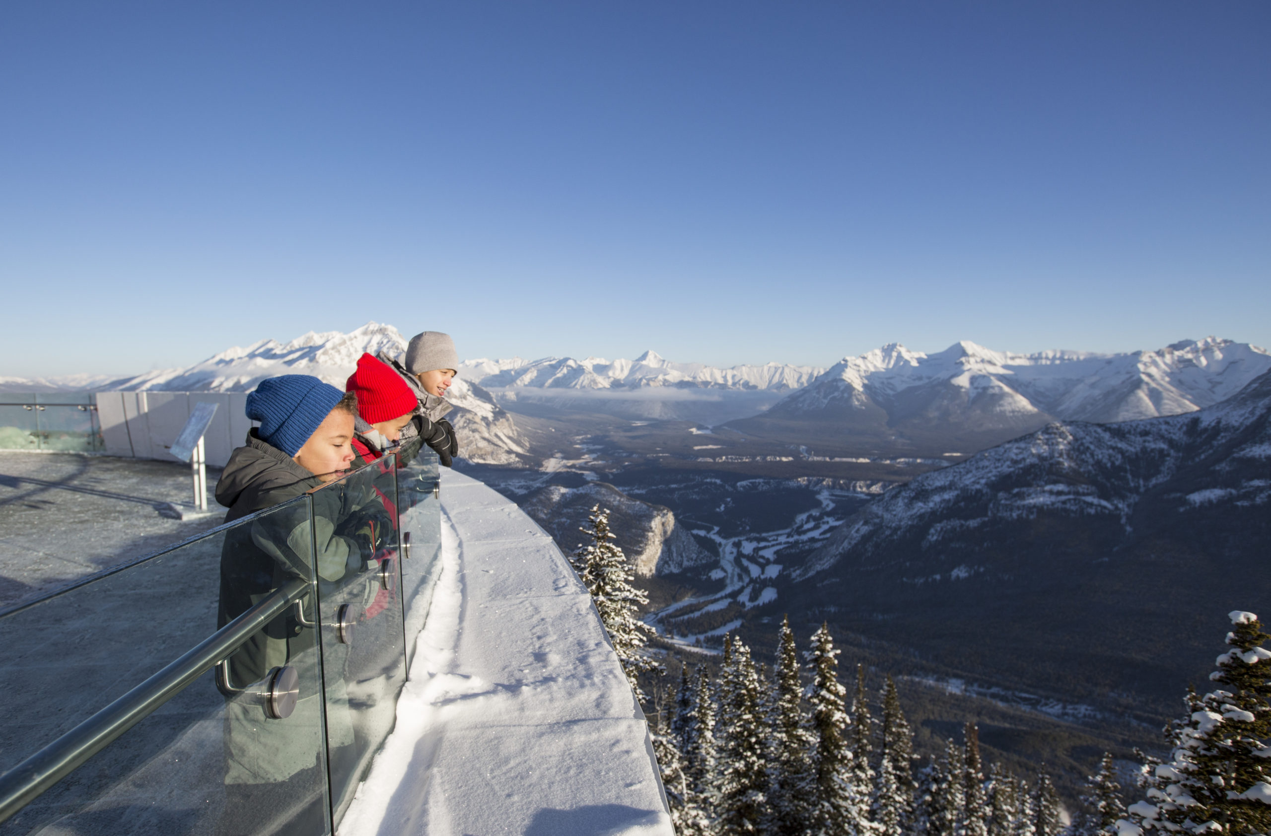 Banff Gondola Canadian Rockies Christmas