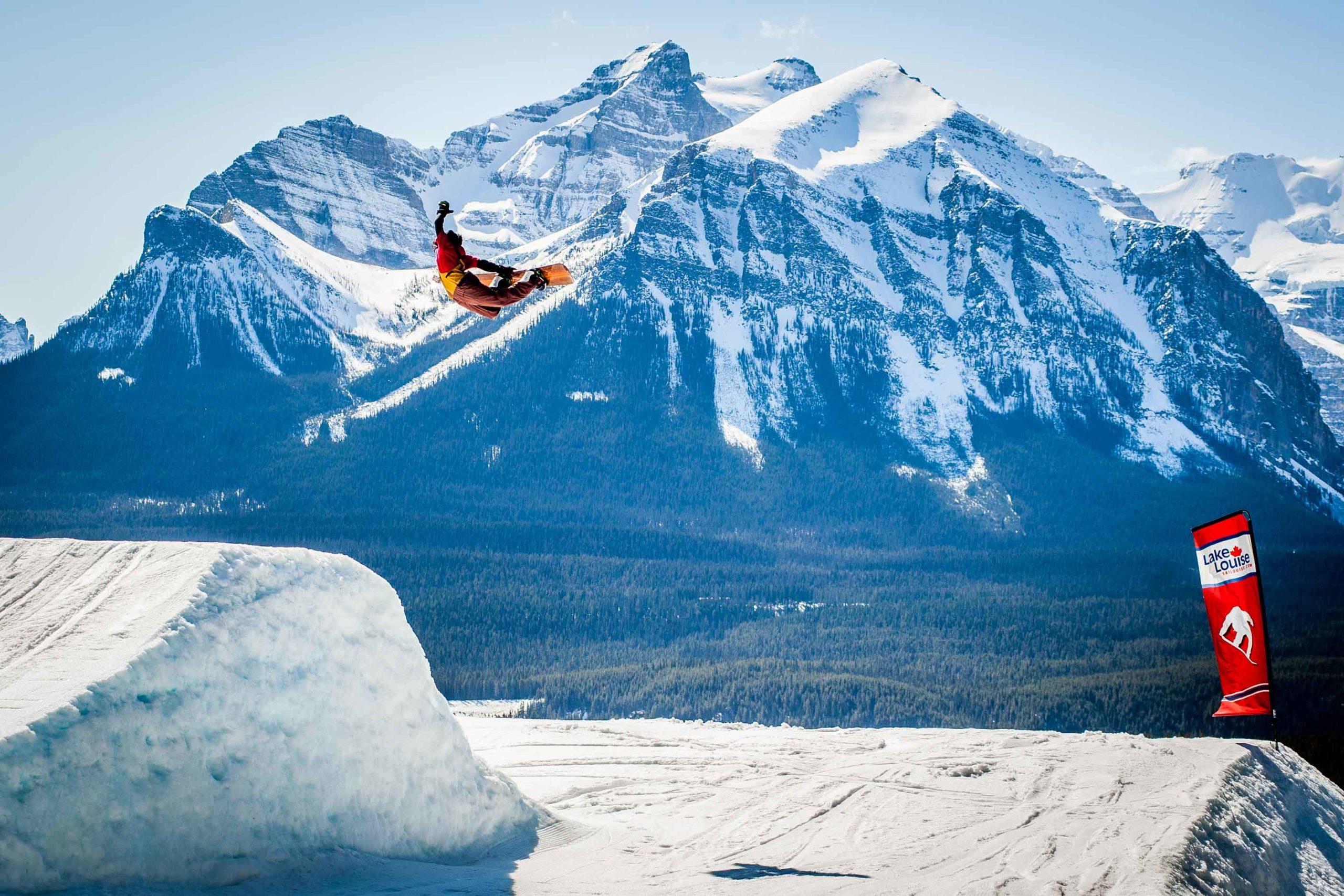 Canadian Rockies Ski Guide Lake Louise