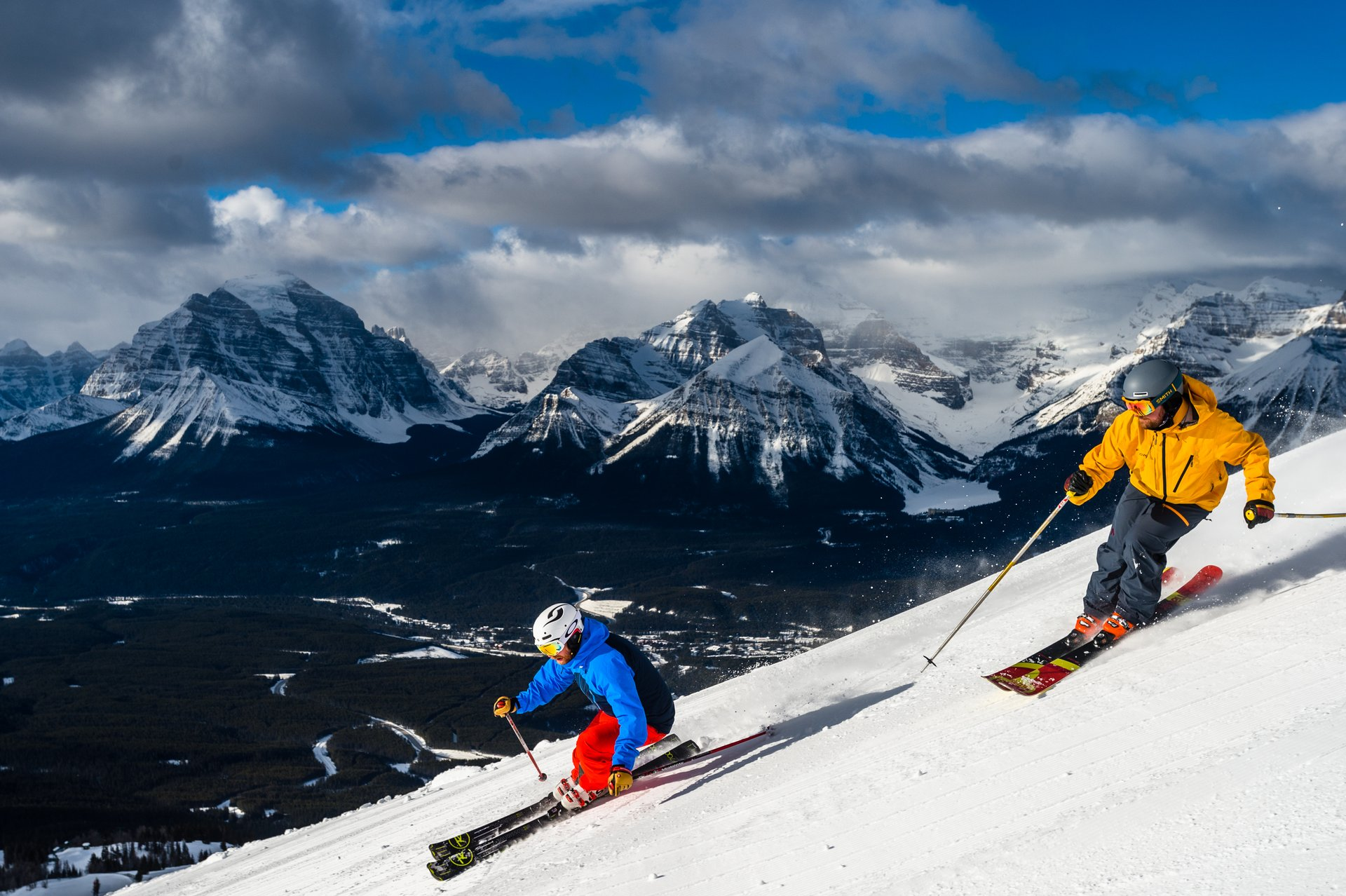 Lake Louise Ski Resort: Photo by Reuben Krabbe