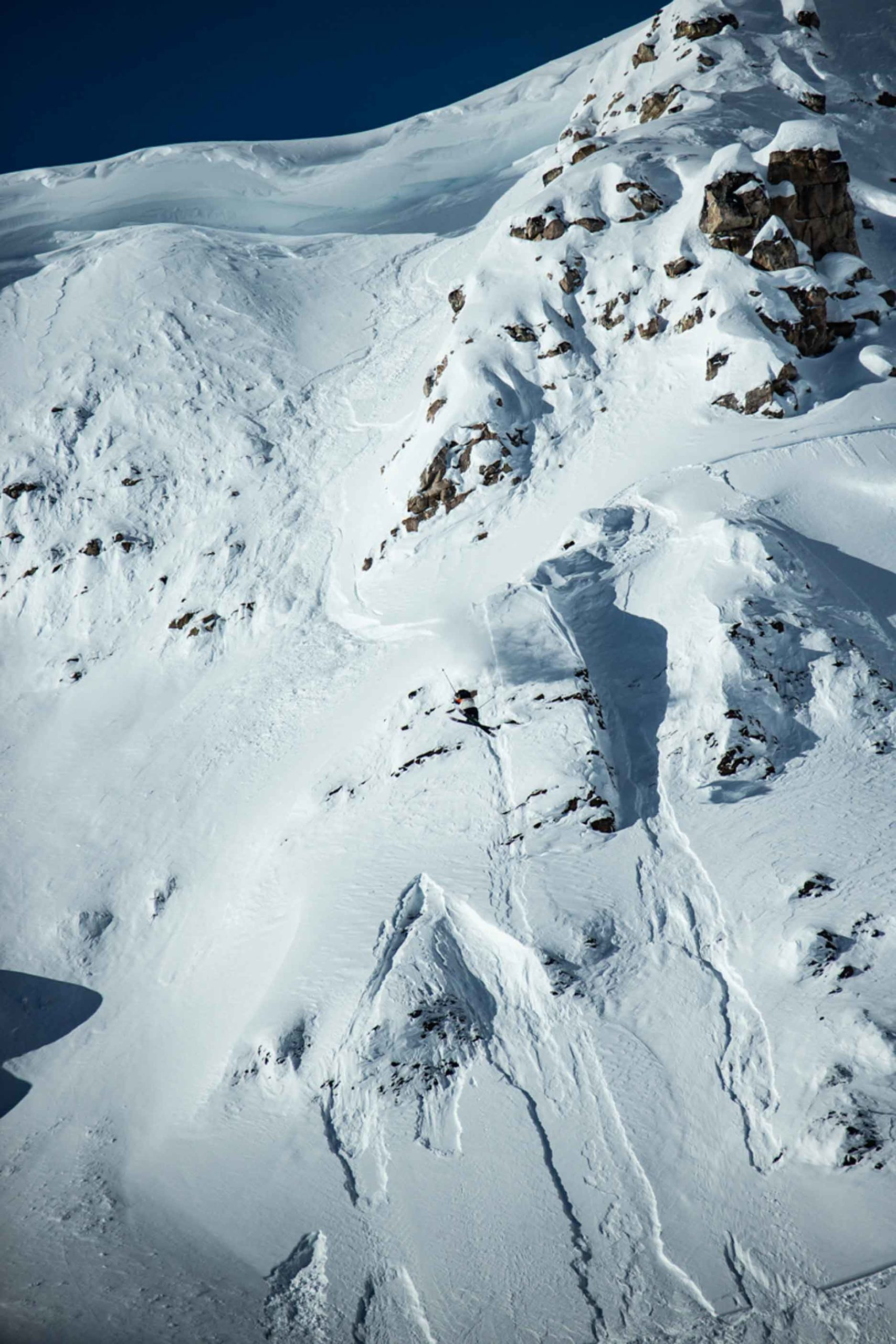 Freeriding at FWT19 by Dom Daher