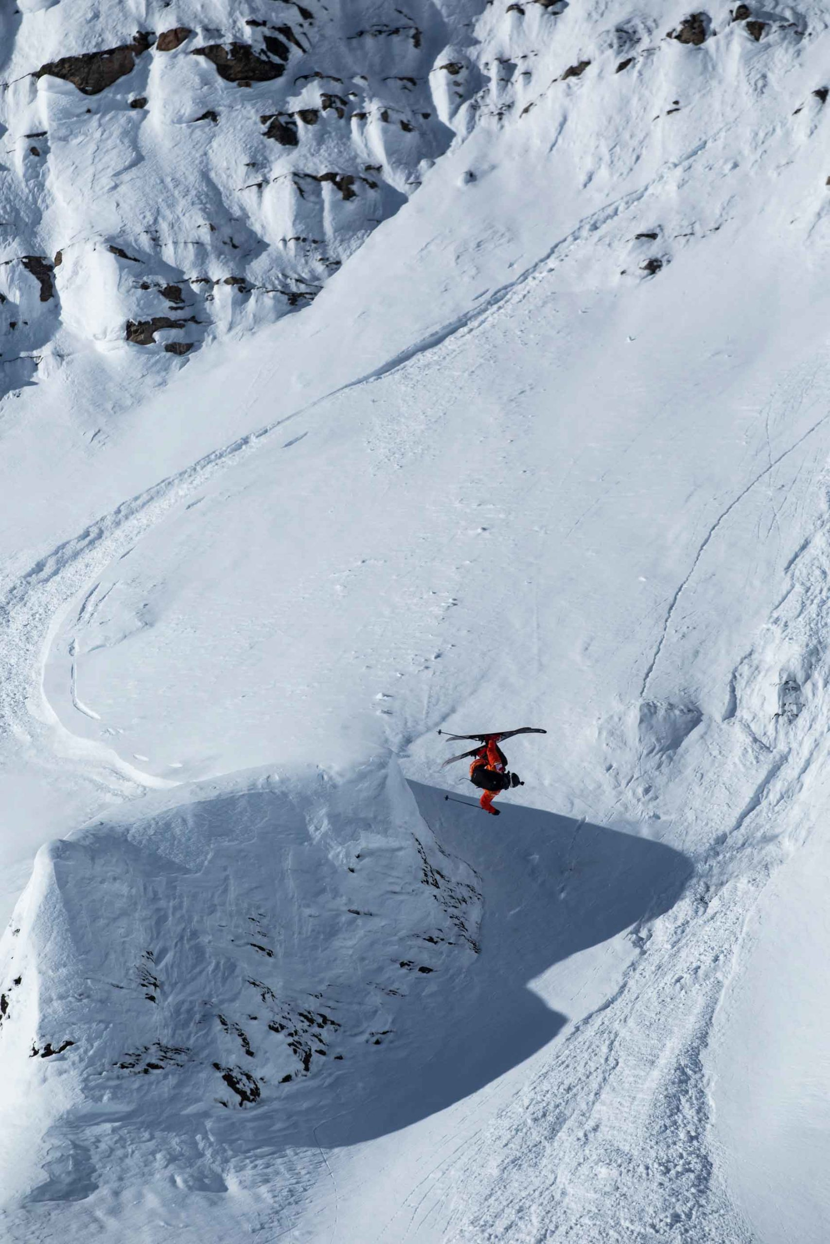 Freeriding at Kicking Horse by Dom Daher