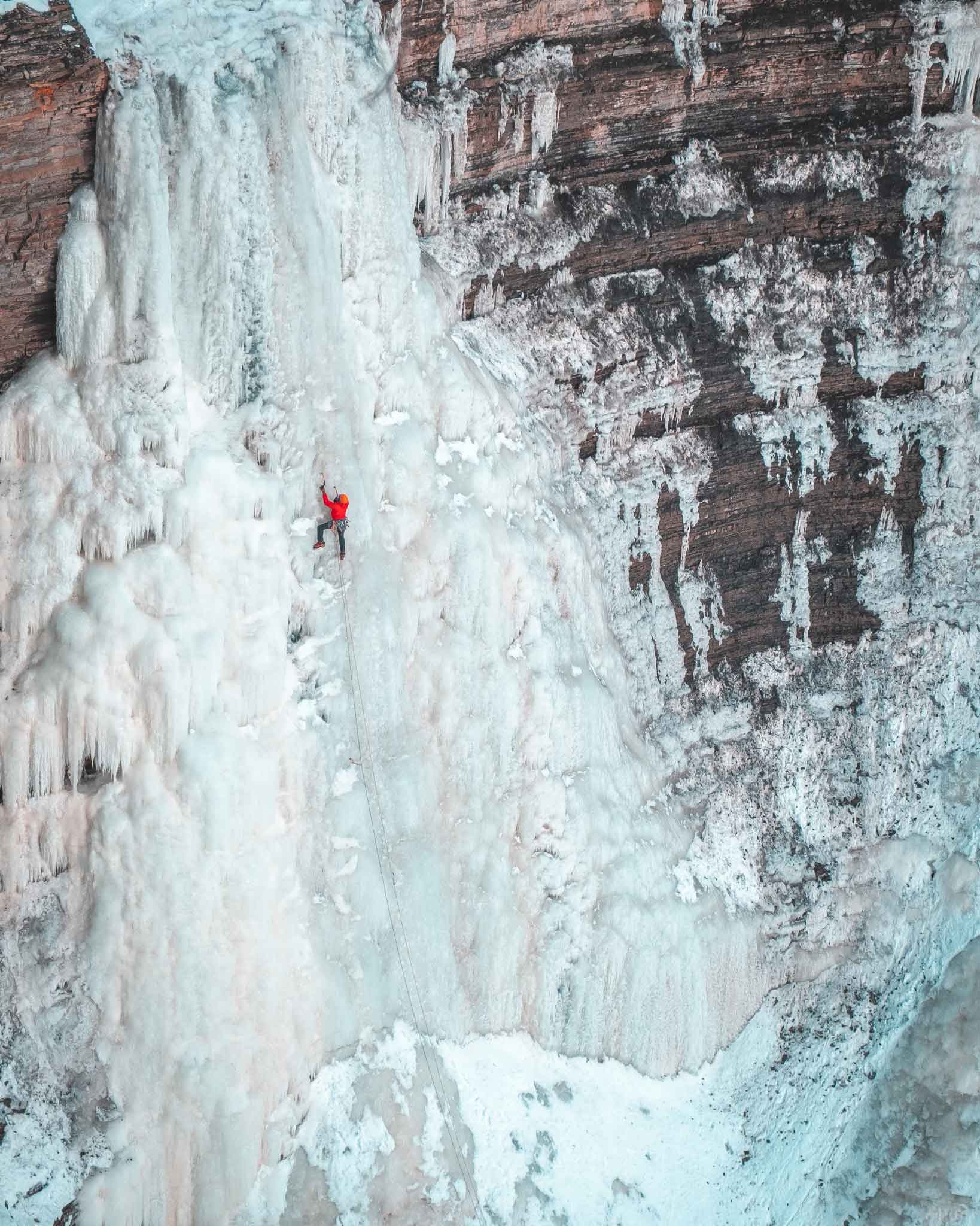 Ice Climbing Photography