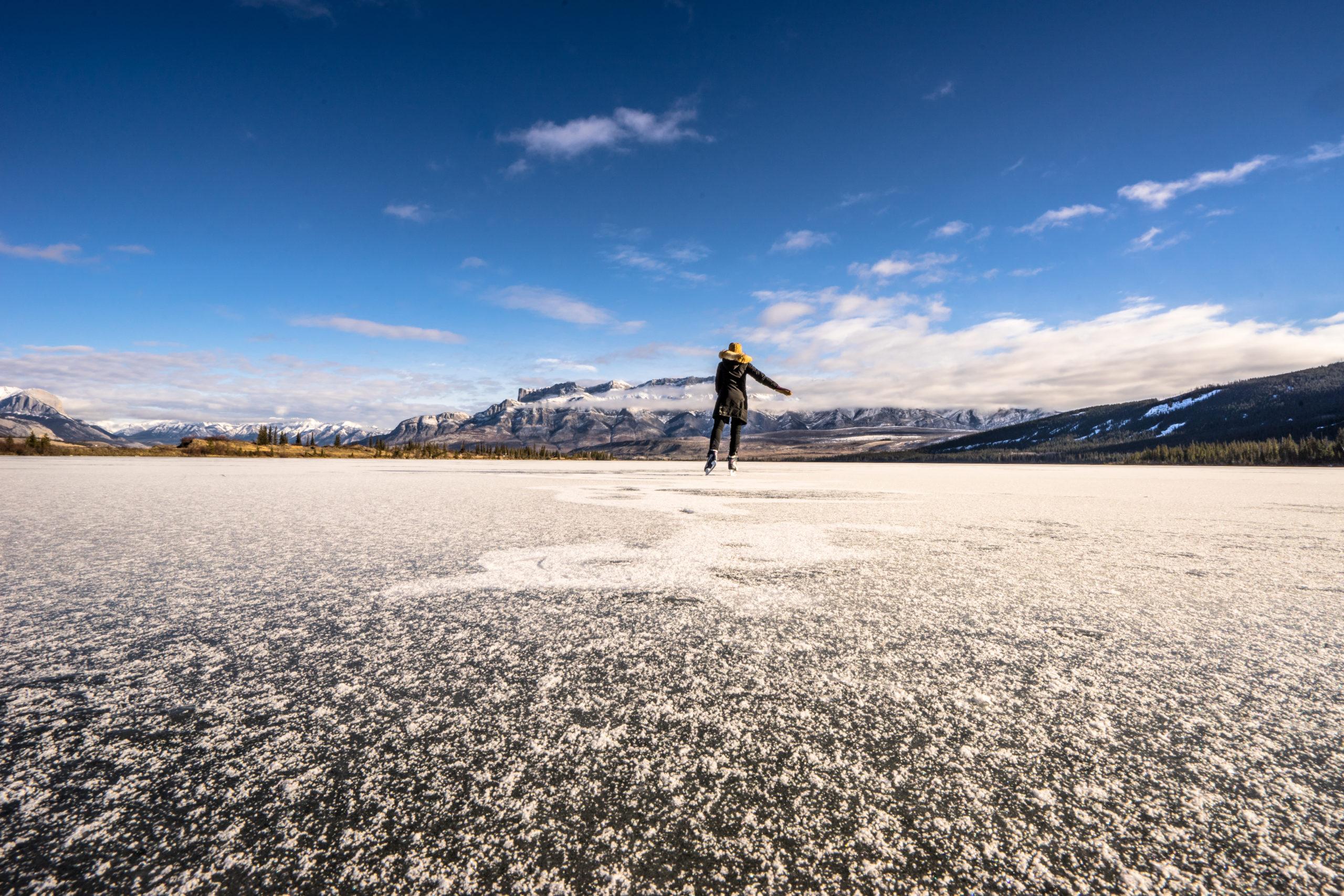 Ice Skating Jasper