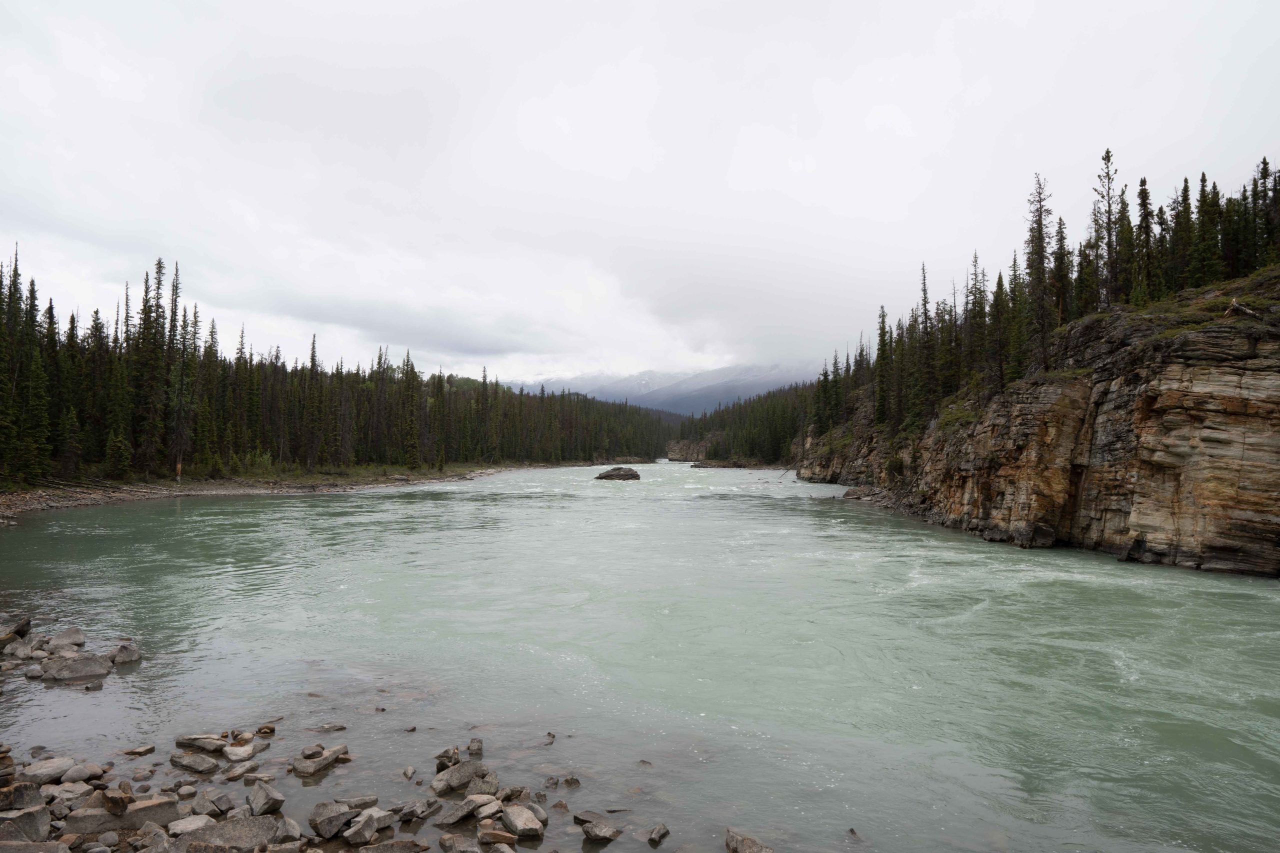 Athabasca River by Jack Hawkins
