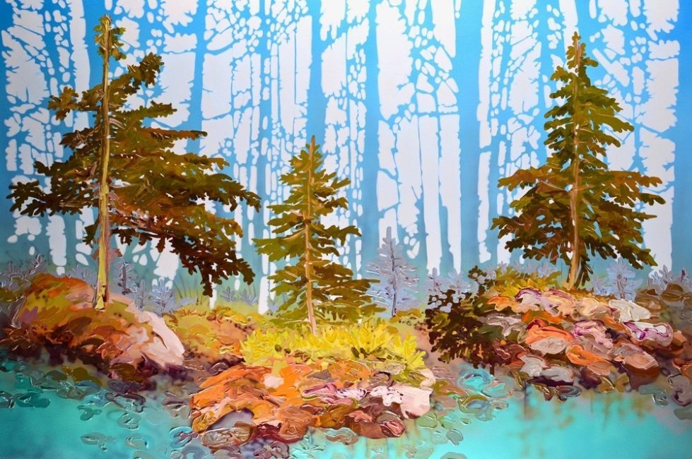 SHEILA KERNAN – simple pleasures – exhibition & artist demonstration at Canada House Gallery on Where Rockies