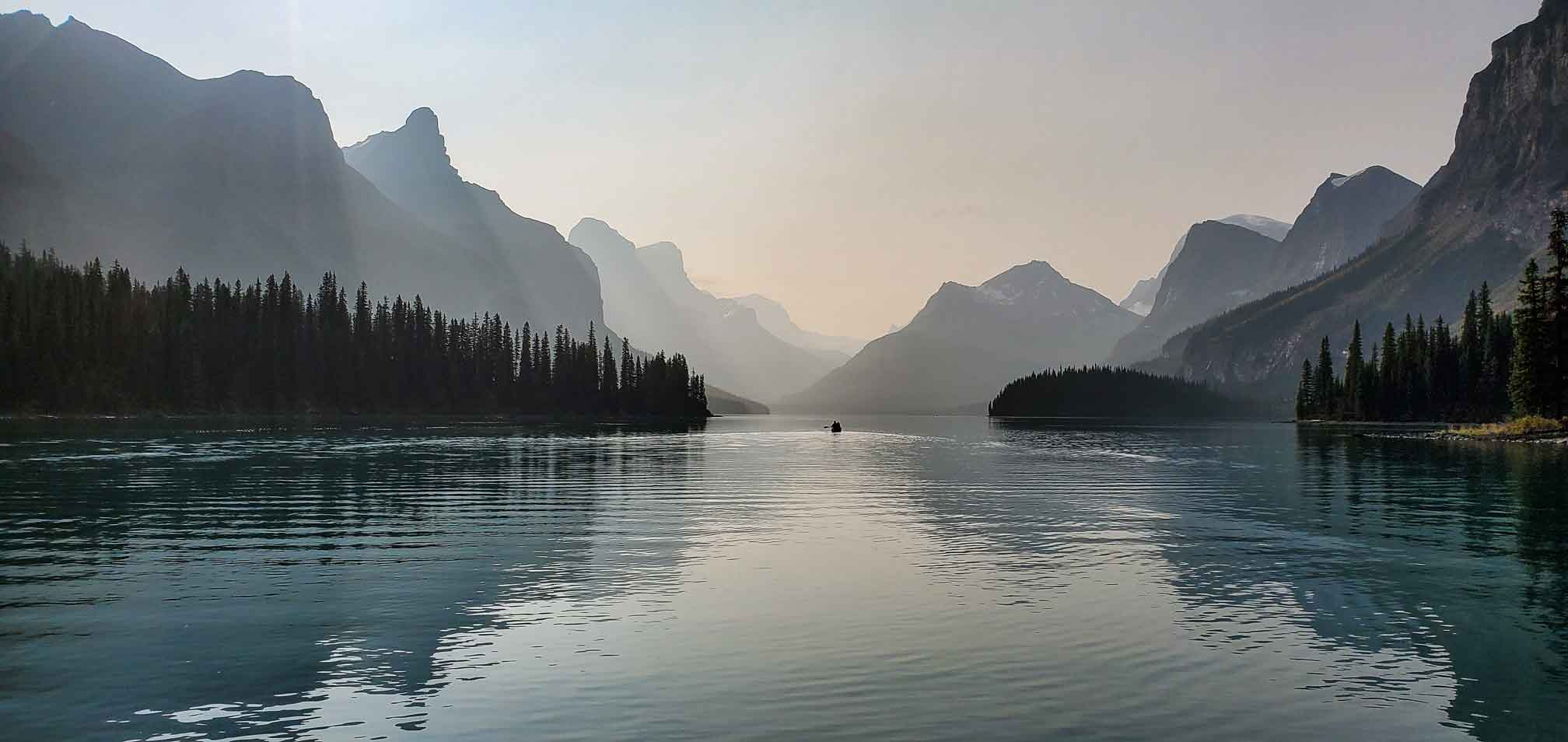 A Day on the Water: Summer in the Canadian Rockies Main Photo