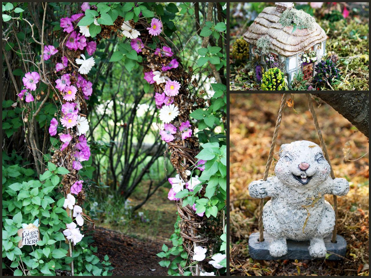 Fairy Garden at Columbia Wetlands Outpost