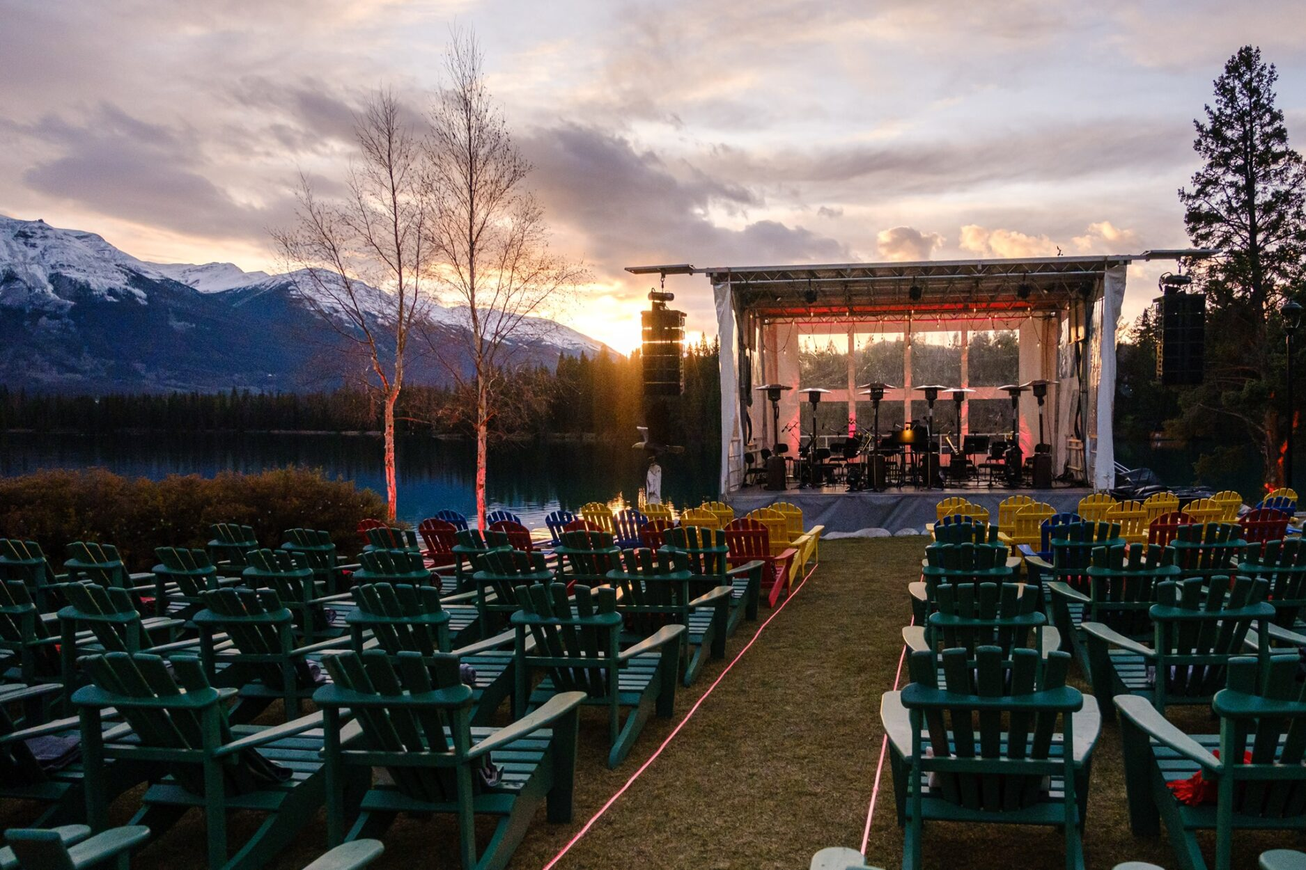 Symphony Under the Stars on Where Rockies