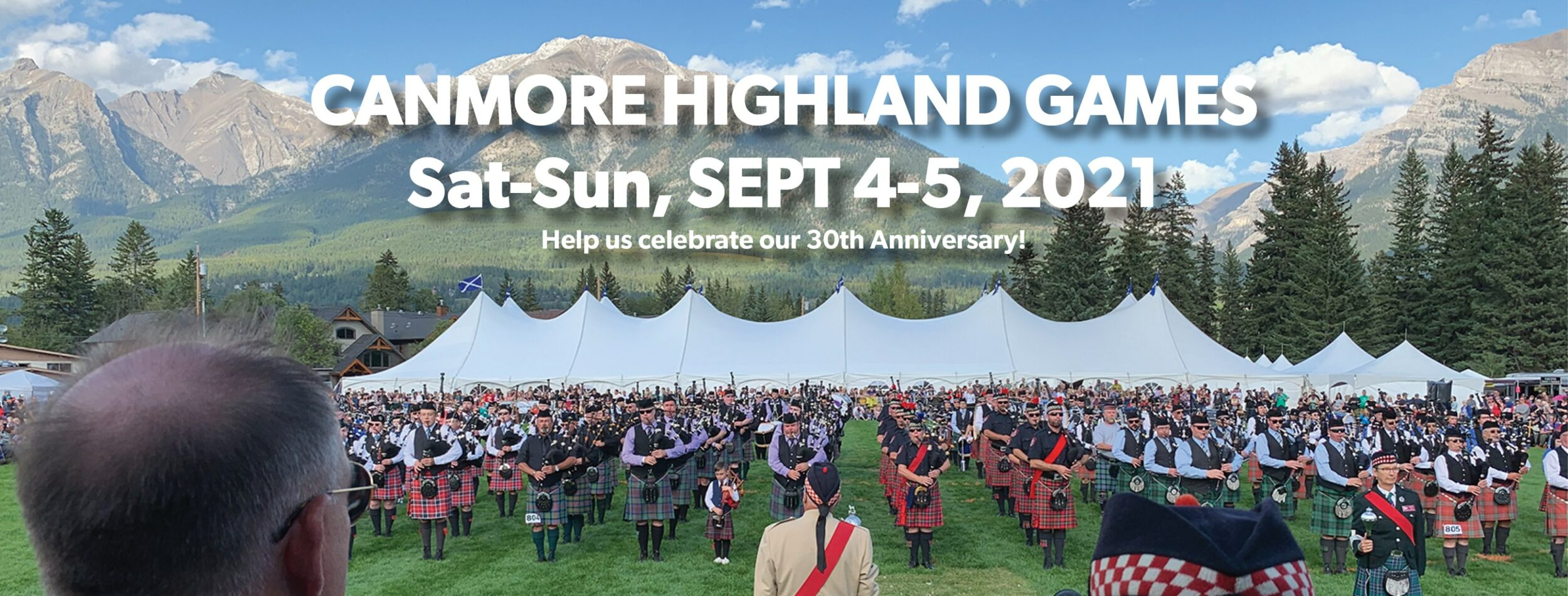 Canmore Highland Games 30th Annual Festival on Where Rockies